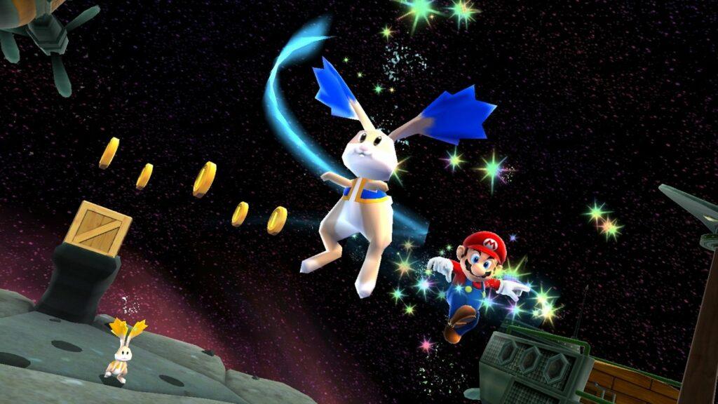 Super Mario sucht Münzen