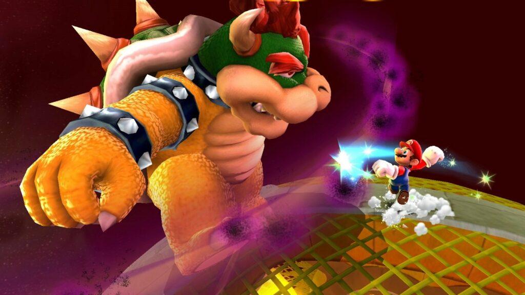 Super Mario und Bowser