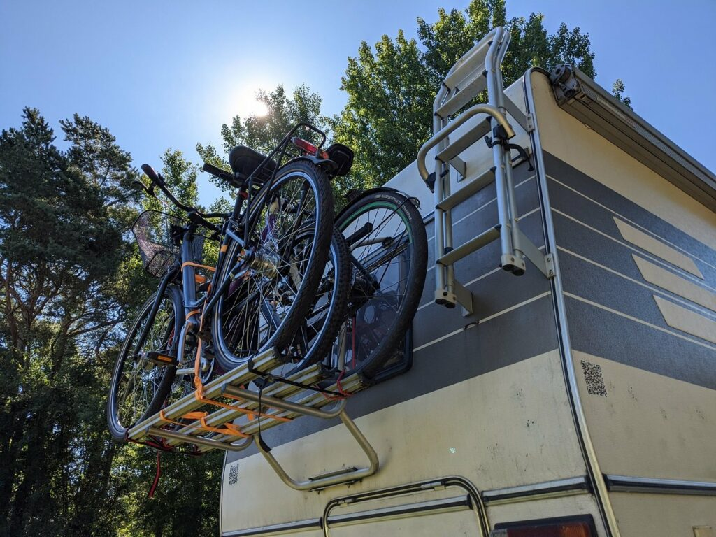 Wohnmobil Hymer Fahrradträger