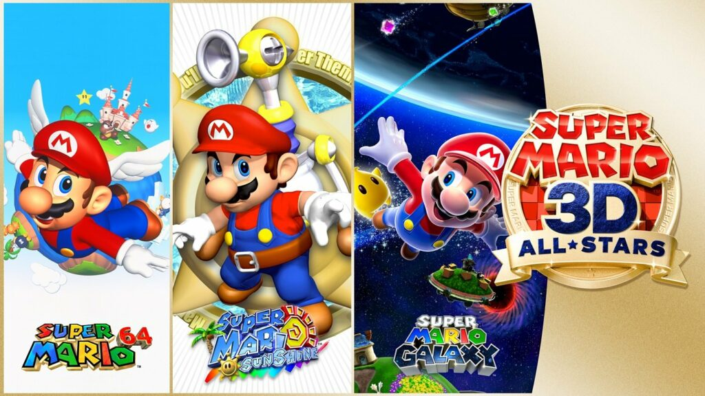 Videospiel Super Mario 3D All-Stars