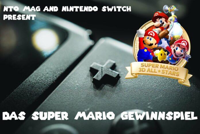 Super Mario Gewinnspiel Header
