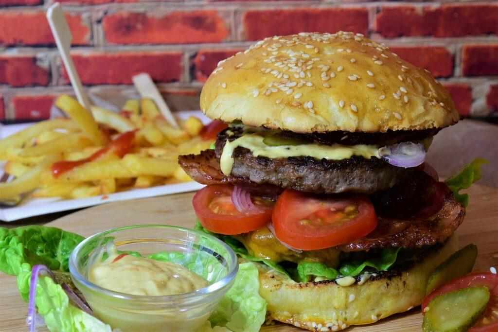 Fast Food in Maßen essen