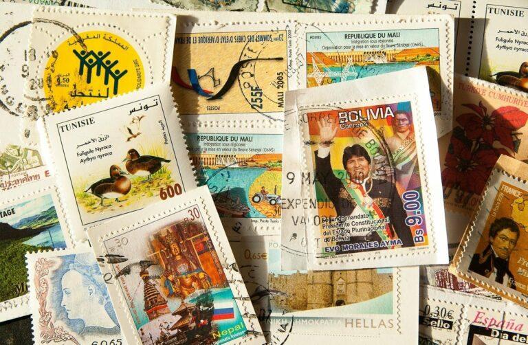 Wie steht es um das Hobby mit den Briefmarken?