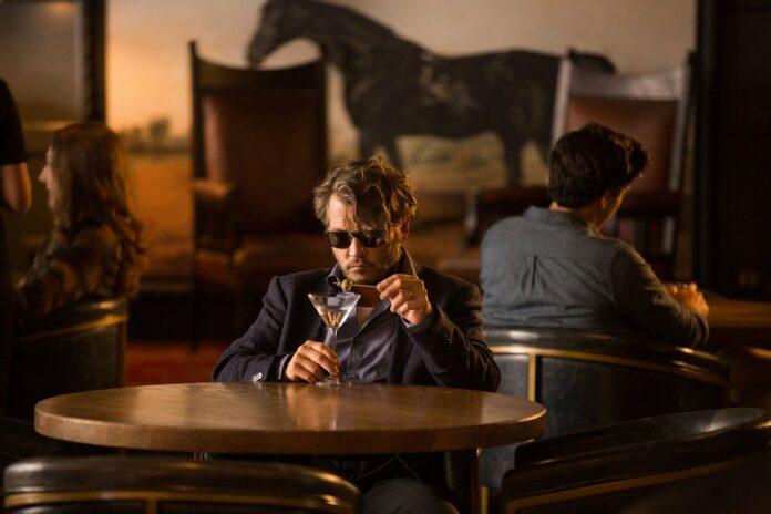 Johnny Depp in Richard says Goodbye