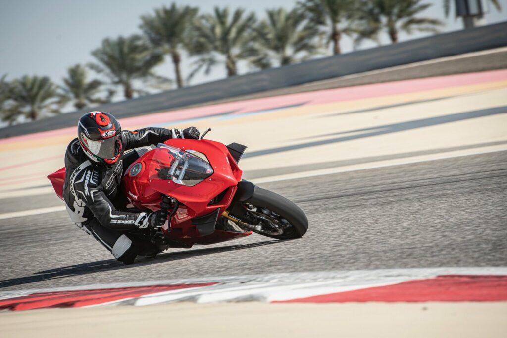 Ducati Motorrad Rennstrecke