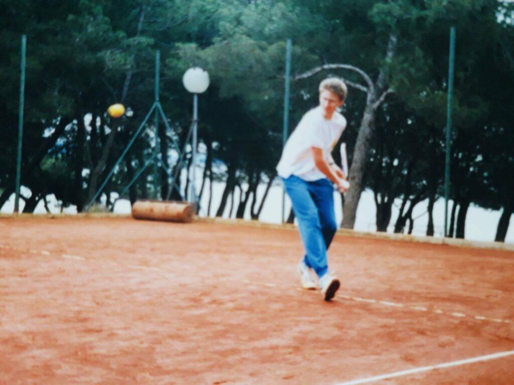 Tim Kroatien 1990