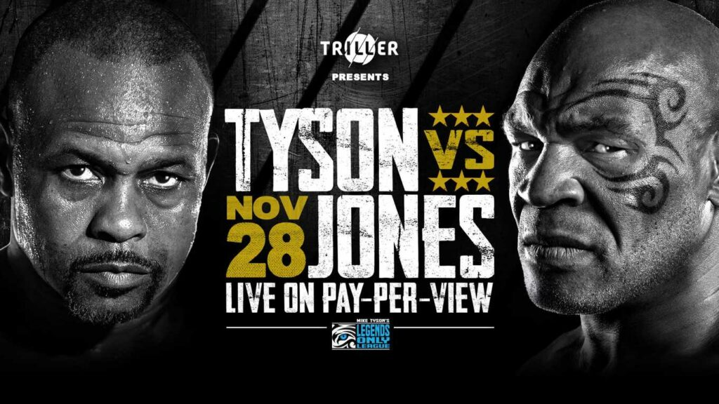 Ray Jones Jr. vs Mike Tyson
