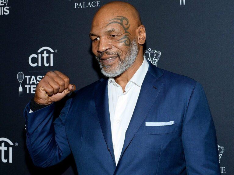 Iron Mike Tyson lässt mit 54 die Fäuste nochmal fliegen