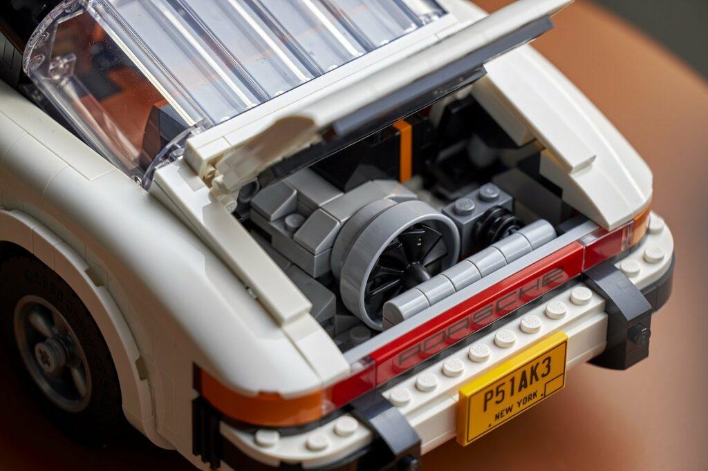 Lego Porsche 911 Motor