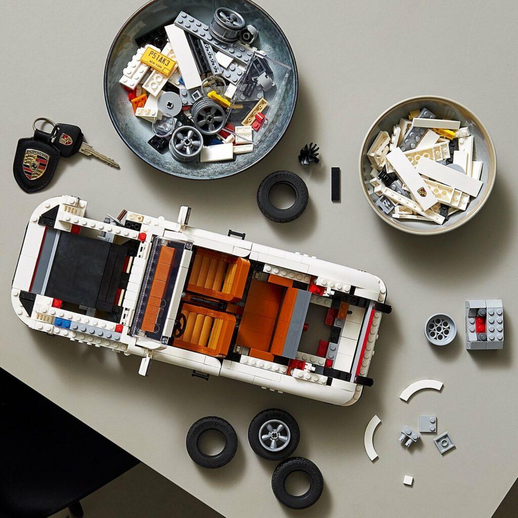 Lego Porsche 911 Set mit 1.458 Teilen