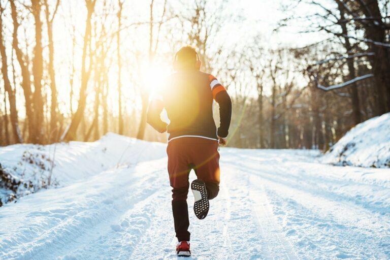 Laufen im Winter – mit diesen Tipps klappt's