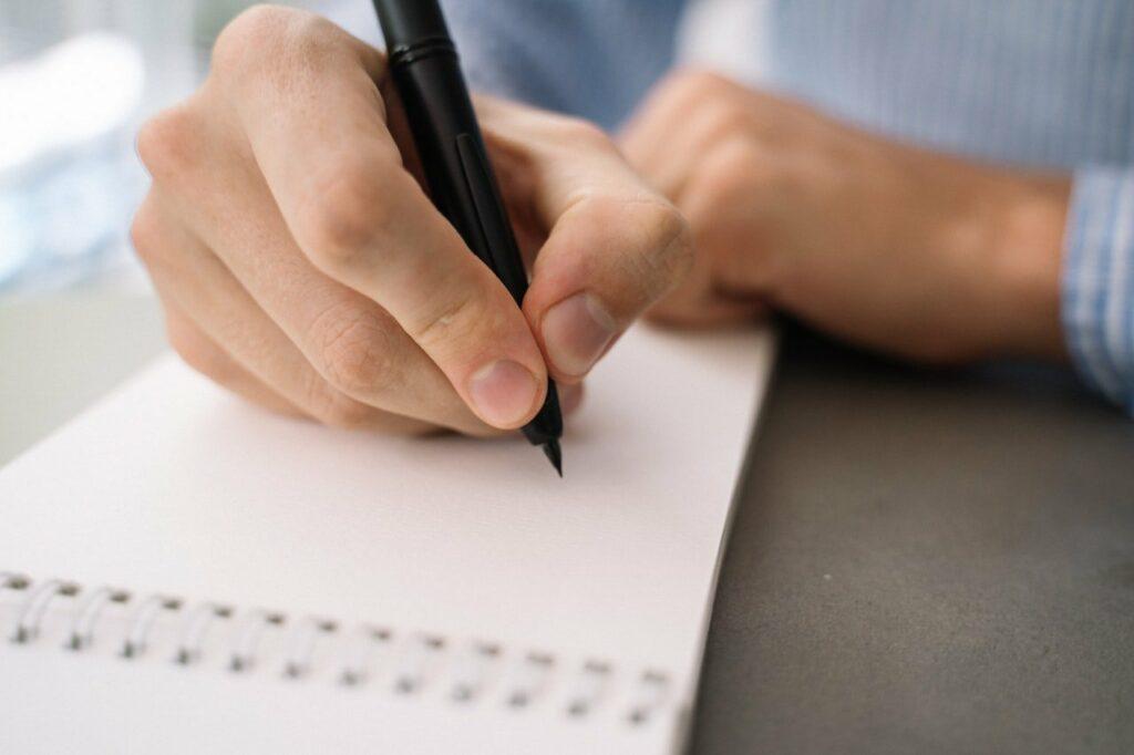 Ein Testament muss von Hand geschrieben sein