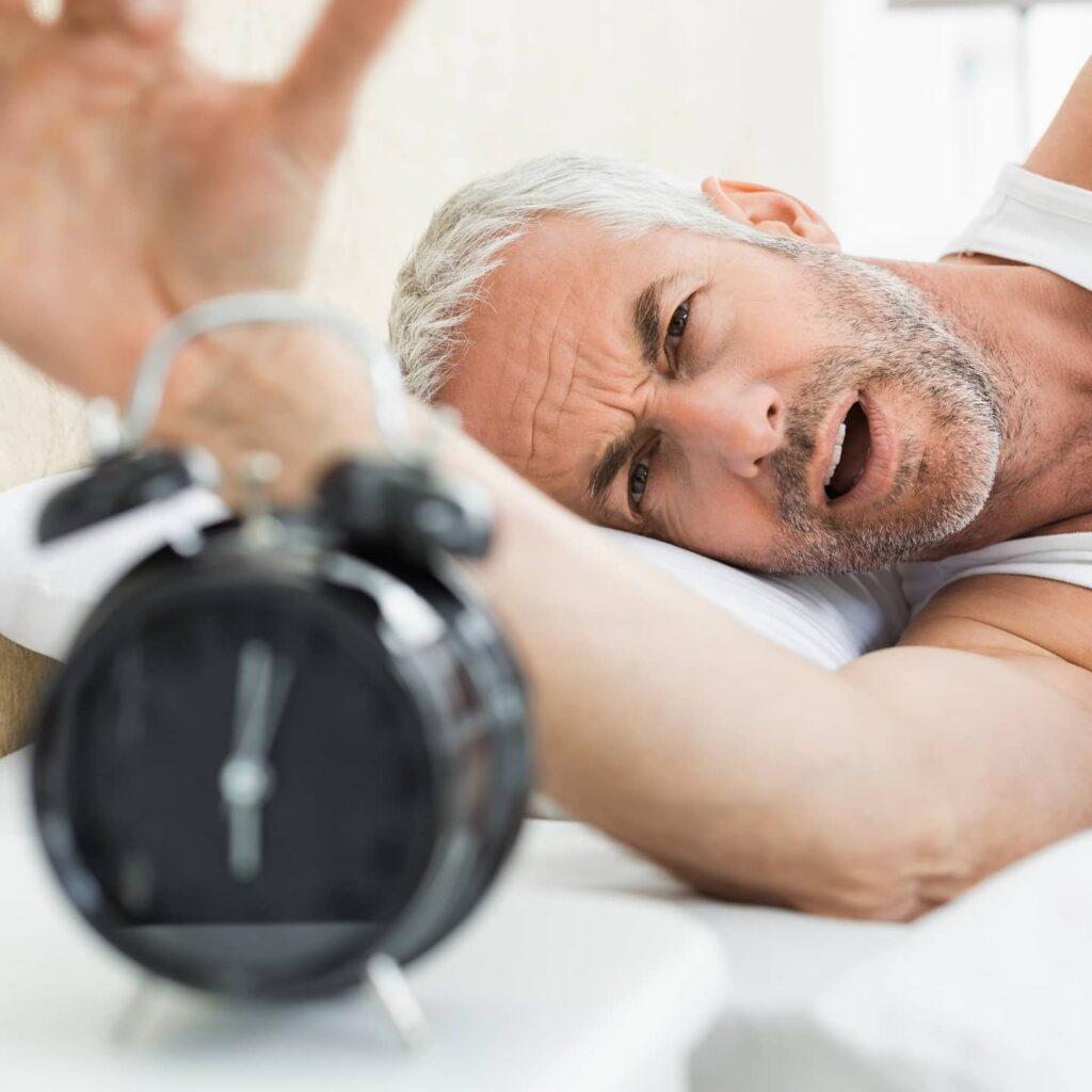 Die Zeitumstellung kann die Gesundheit und die Nerven belasten