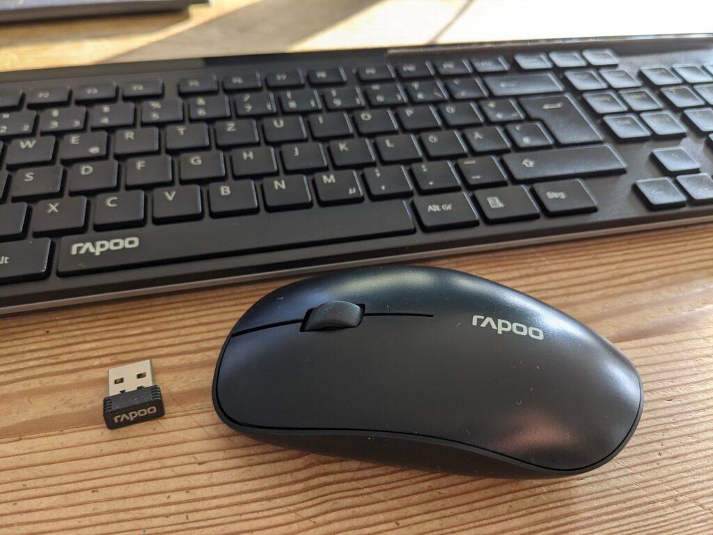 Maus mit Tastatur aus dem eBay B-Ware Center