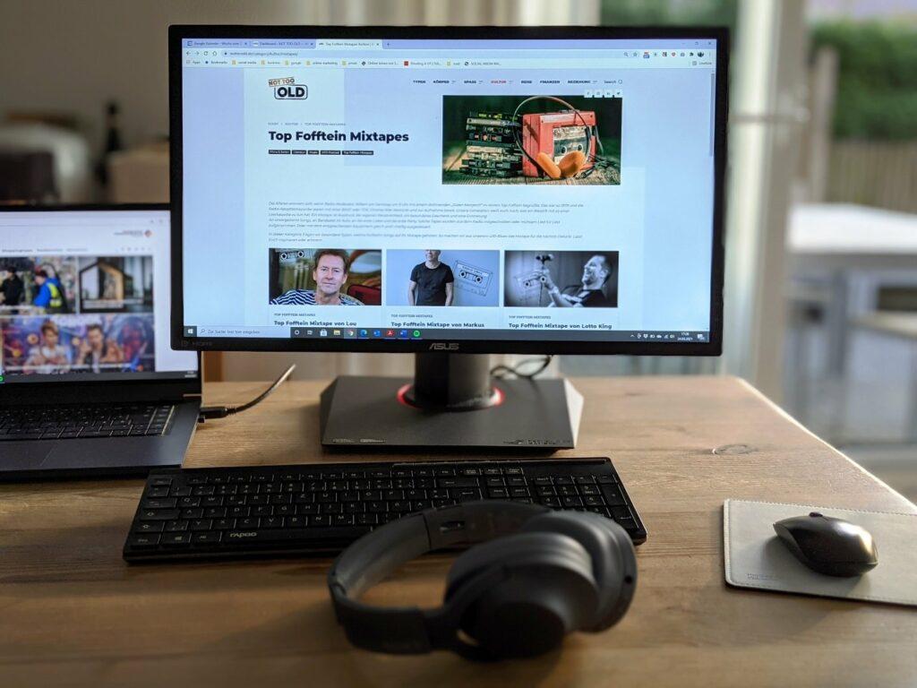 Technik-Setup für das Home Office aus dem eBay B-Ware Center