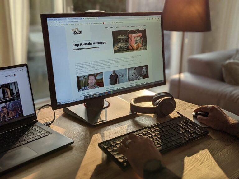 Home Office de Luxe – mit B-Ware von eBay