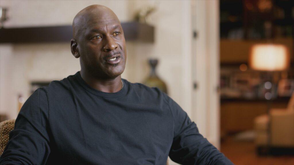 Michael Jordan im Interview für The Last Dance