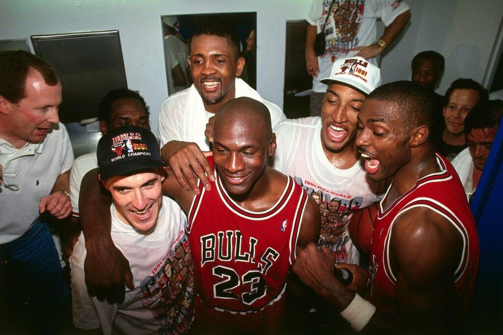 Michael Jorden und die Chicago Bulls