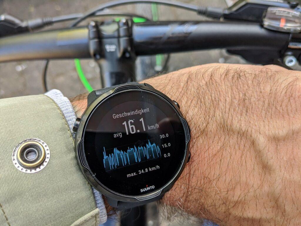 Tracking mit der Sportuhr Suunto 7