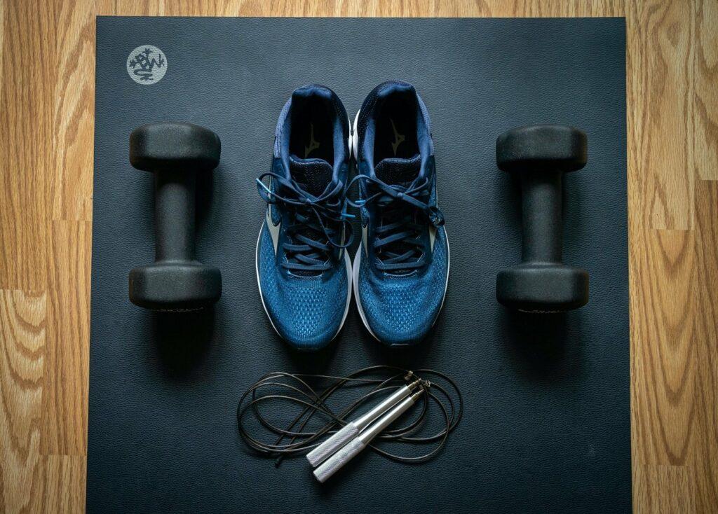 Das richtige Equipment motiviert bei der Fitness in den eigenen vier Wänden