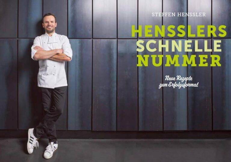 """Kochbuch für Einsteiger: """"Hensslers schnelle Nummer"""""""