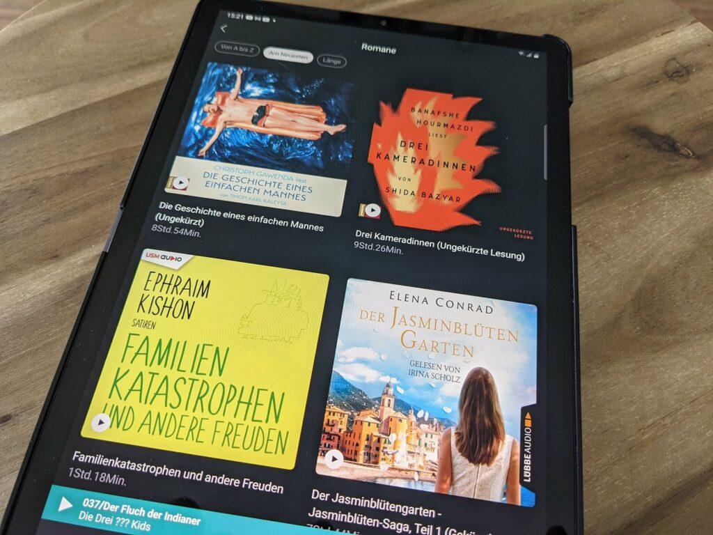 """Neue Hörbüchern entdecken mit der App """"Audiobooks by Deezer"""""""