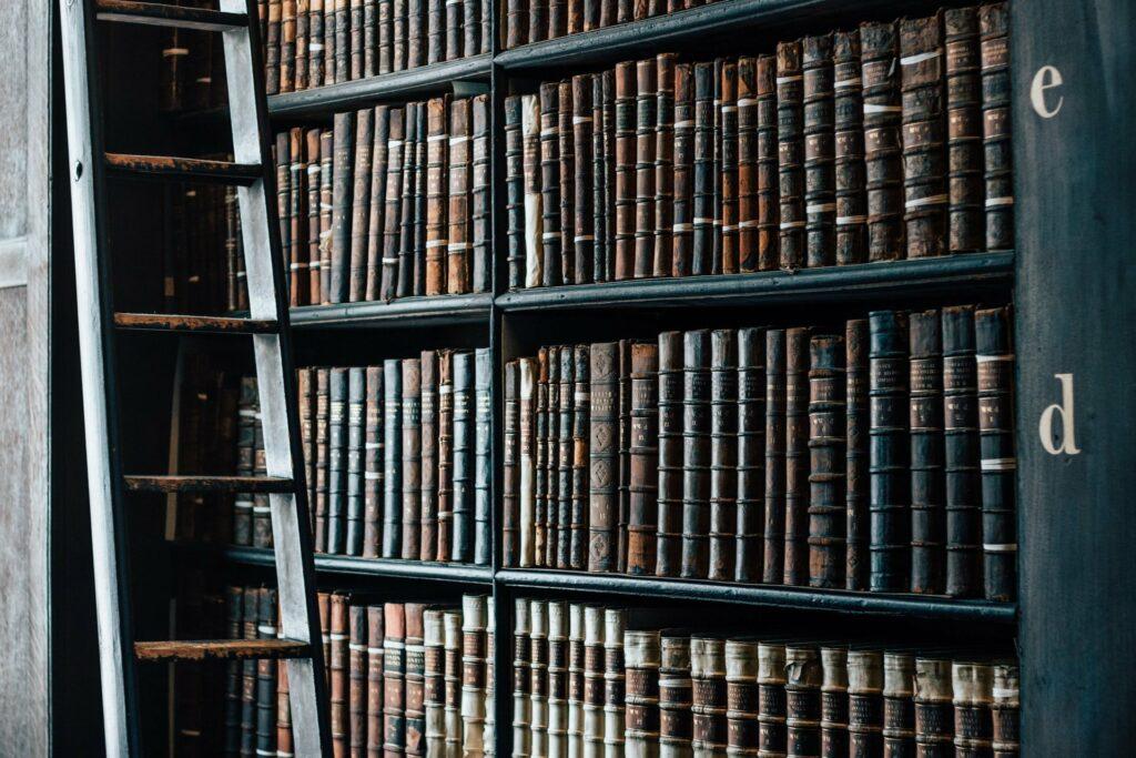 Studieren im Alter ist kein Selbstgänger, sondern erfordert Einsatz und Disziplin - und Recherche in der Bibliothek