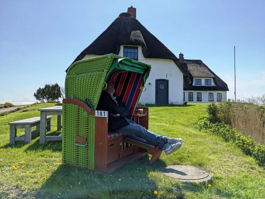"""Unser Ferienhaus """"Rickmer's Hoff"""" auf der Nordseeinsel Pellworm"""