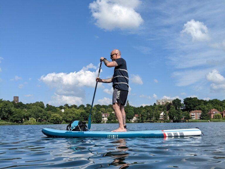 Pump up the SUP – mit dem Stand Up Paddle Board aufs Wasser