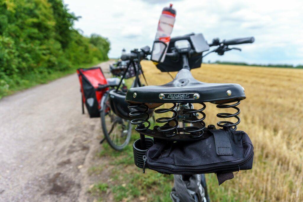 Eine Radreise schont die Umwelt