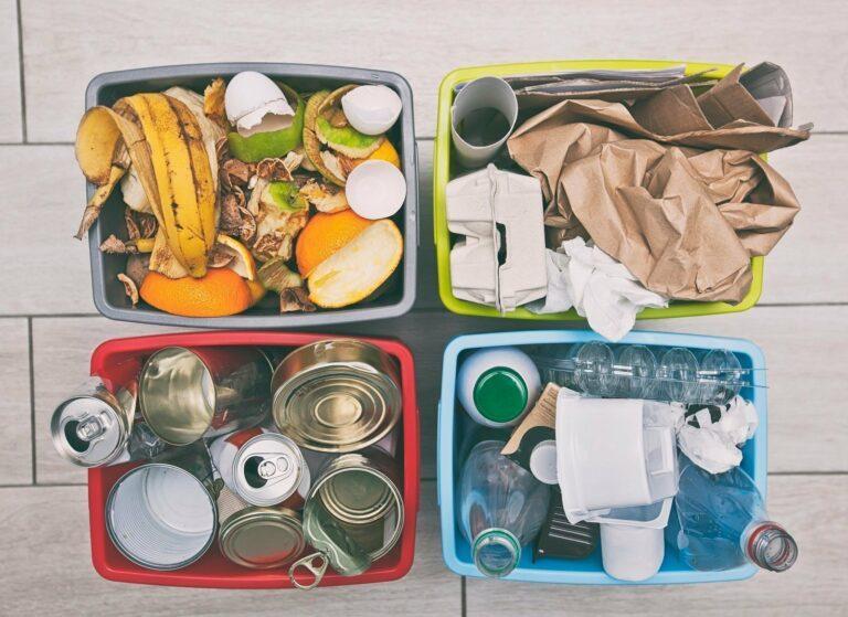 Für korrekte Mülltrennung ist man nie zu alt