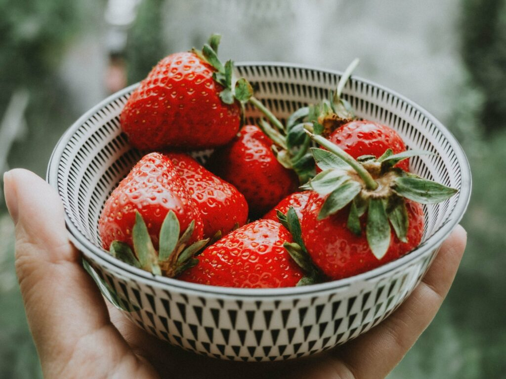 Erdbeeren unterstützen die Fettverbrennung