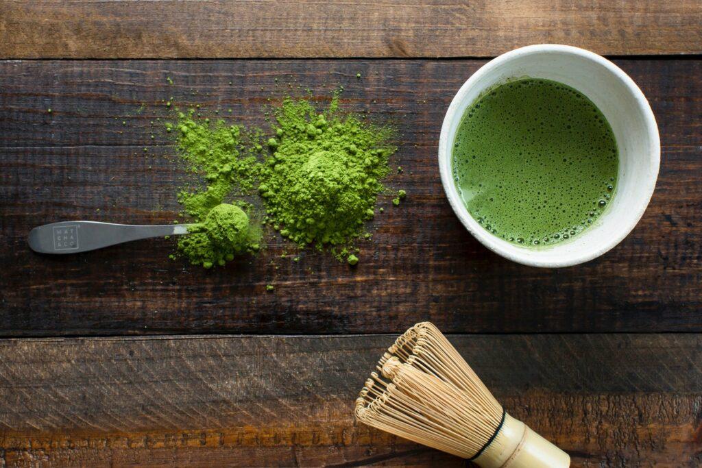 Grüner Tee kurbelt die Fettverbrennung an