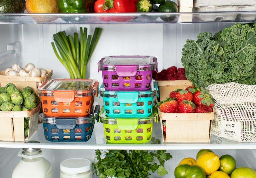 meal-prepping hilft bei einer gesunden Ernährung